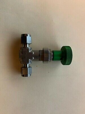 Swagelok - Ss-4l - Ss High Flow Metering Valve 14 In. Swagelok Tube Fitting
