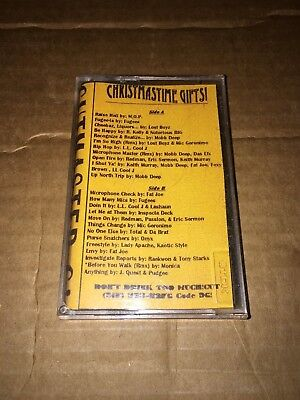 RARE! DJ CUTMASTER C Christmas Time Gifts 90s NYC Hip Hop Cassette Mixtape Rap ()