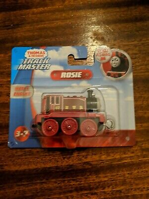 THOMAS & FRIENDS TRACK MASTER ROSIE PUSH ALONG WORK ON TRACK MASTER TRACK NEW