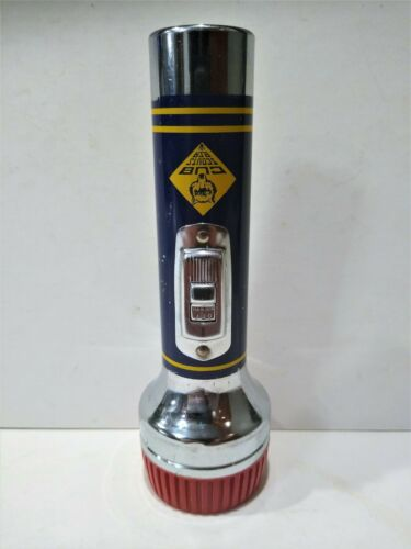 Vintage Working 1950's Cub Scout Official Flashlight BSA Boy Scouts of America
