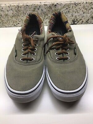 Vans Off The Wall  Mens 10.5 Pro Sneakers Skate Skateboard Shoes 721356 Beige