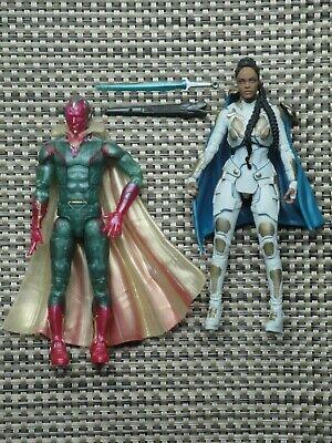 Marvel Legends Vision & Valkyrie action figure Fat Thor BAF series Bro lot