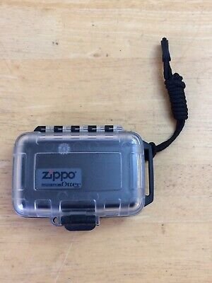 Zippo Lighter Airplane Travel Cargo Case Clean Clear by OTTERBOX OTTER BOX NICE
