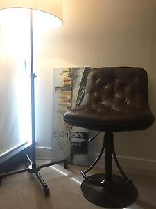 Luxury leather bar stools (x8) Chatswood Willoughby Area Preview