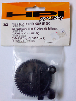 RC HPI SPUR GEAR 52 T WITH COLLAR SET NITRO MT 2 SPEED #76822