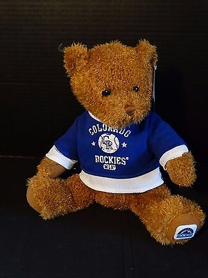 (Colorado Rockies MLB Official Plush Bear with T-Shirt ~ NWT)