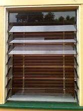 Glass Louvre Windows 4 x Matching Sets Ashgrove Brisbane North West Preview