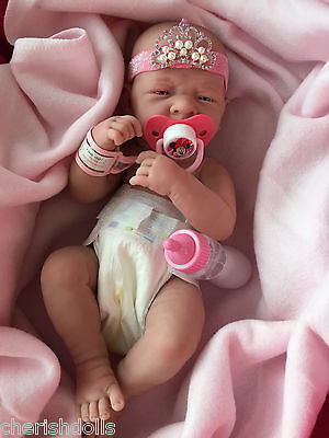 "BABY GIRL BERENGUER PRINCESS NOT A REBORN 14"" PLAY DOLL ANATOMICALLY CORRECT"