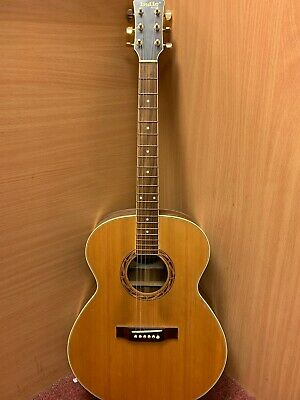 "(NE6) Indie ""The Pure J"" Acoustic Guitar in Hard Case"