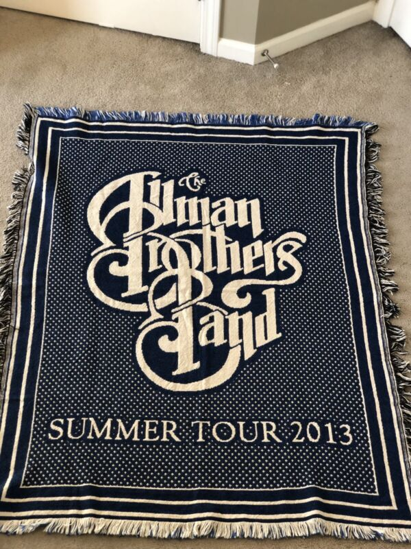 Allman Brothers Blanket - Summer Tour 2013 - Never Been Used