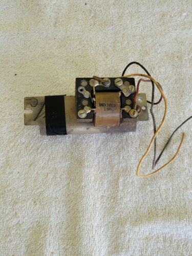 Western Electric Telephone Payphone coil and condenser