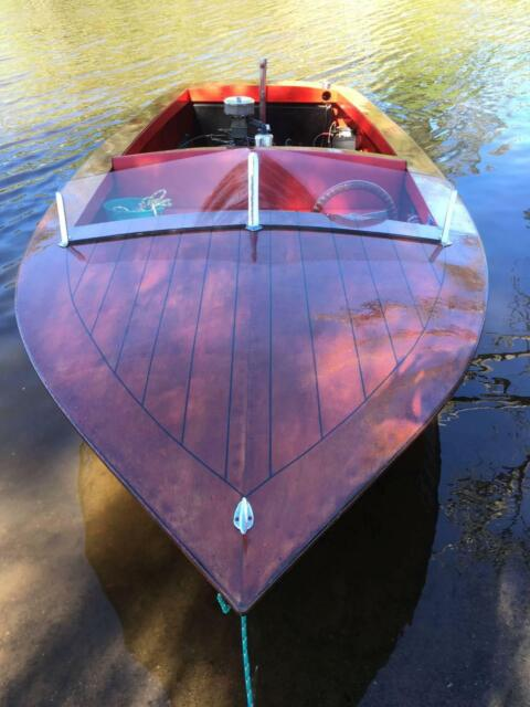 Wooden Classic Restored Speed Boat Motorboats Powerboats