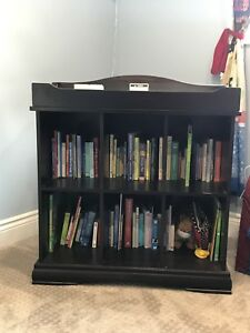 Infant change table/ bookcase