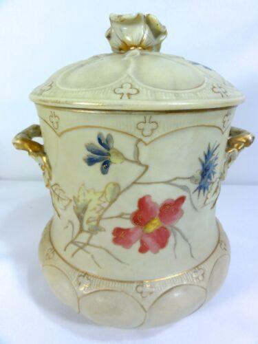 Vintage Germany Porcelain Biscuit Jar
