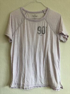 American Eagle Outfitters Small Pink Purple 90s Love Child Tshirt