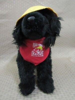 Jake the Salty Dog Cafe black lab yellow hat plush animal](Jake The Dog Stuffed Animal)
