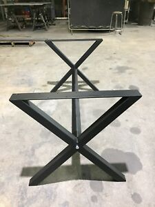 Heavy duty steel table lags and base !