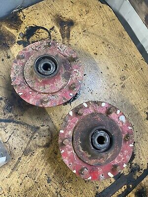 Ford 8n Tractor Front Wheel Hubs