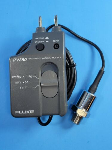 Fluke PV350 Pressure/Vacuum Module, Excellent Condition!