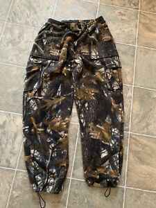 Men's camo mountain Ridge fleece pants size large $10
