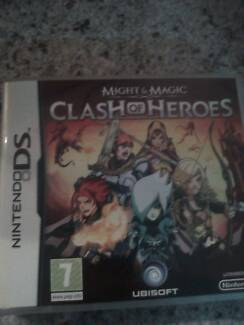 DS Clash of Heroes game