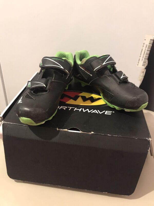 Northwave Hammer Cyclocross Mountain Biking Cycling Shoes Size 34 Uk 2 Kids