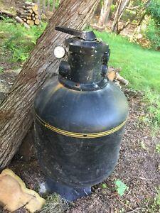 Pool filter for parts or repair