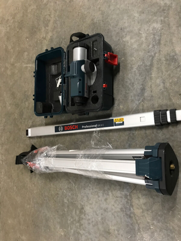 Bosch Automatic GOL26, GR 8 C & BT 152 Optical Leveling System - Complete System