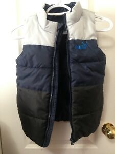 Boys Puma sleeveless vest