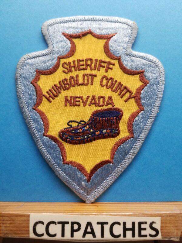 HUMBOLDT COUNTY, NEVADA SHERIFF (POLICE) SHOULDER PATCH NV