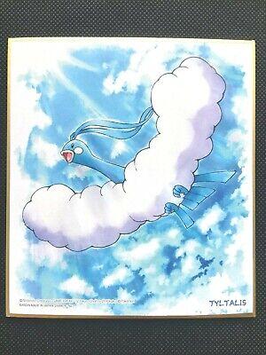 Altaria Pokemon Shikishi Art Japanese No.7 Very Rare Bandai From Japan F/S
