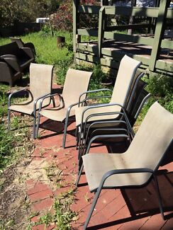 7 outdoor chairs Mount Claremont Nedlands Area Preview