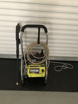 Ryobi 1700 PSI 1.2 GPM Garden Outdoor Driveway Yard Electric Pressure Washer