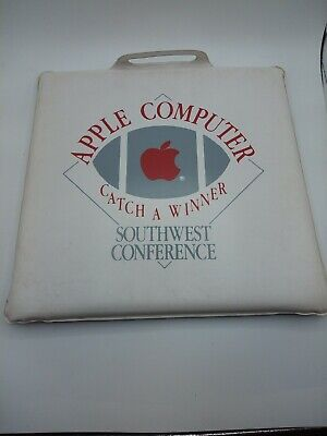 Apple Computer Seat Cushion Southwest Conference Football Red Logo