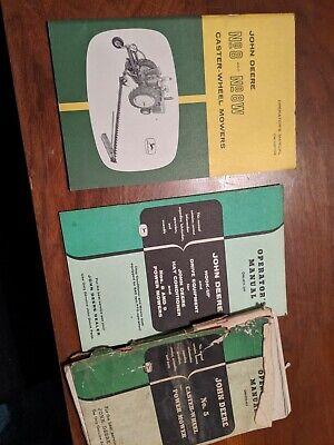 John Deere No. 5 8 8w 9 9w Mower Operators Manual - Sickle Bar Mower