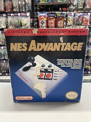 1989 Nintendo NES Advantage Video Games Controller Tested Working