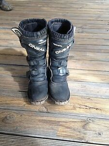 Motorbike boots ONeal youth size 2 Normanville Yankalilla Area Preview