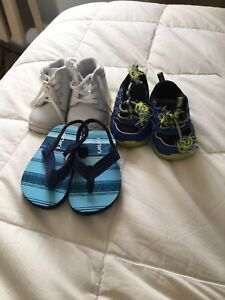 9 pairs Boys shoes, sizes 3, 4, & 5