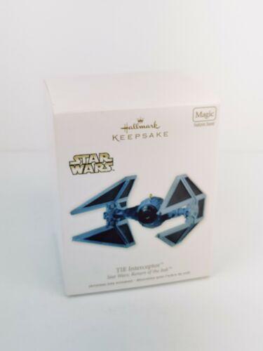 HALLMARK 2012 STAR WARS RETURN OF THE JEDI TIE INTERCEPTOR MAGIC