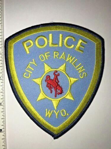 Rawlins Wyoming Police Patch New