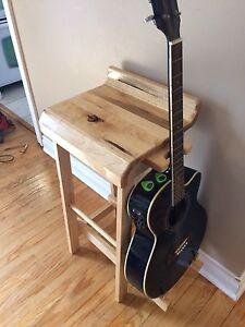 Solid Maple Guitar Stool / Stand