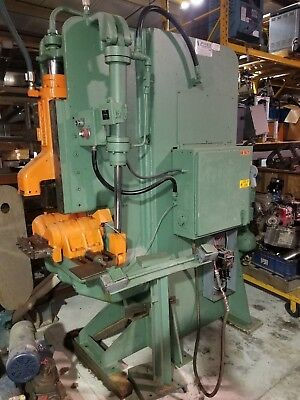 Pines 20t 30 Ton Vertical Hydraulic Tubingpipebar Bender Wset Available Dies