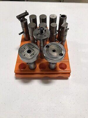System 3r Set Of 12 20mm Edm Electrode Holders Sinker Tooling Cnc Machine Lot