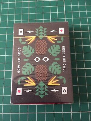 Howler Bros Playing Cards By Theory11. Like Ellusionist Orbit Fontaine