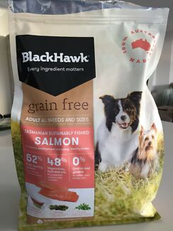 Black hawk dog food 2.5kg only a cupful used