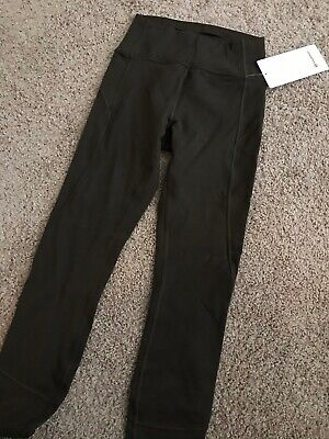 lululemon olive in movement tight size 4