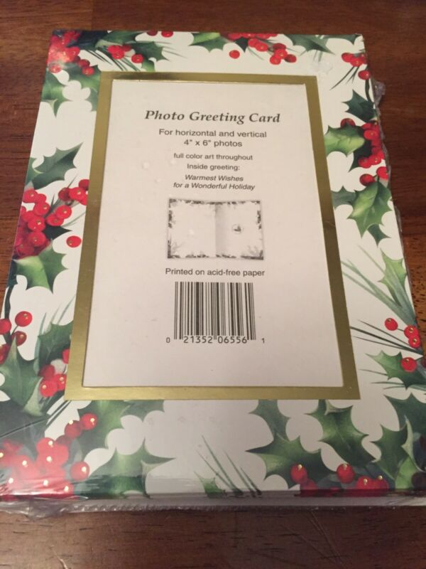 Photo Greeting Cards 4x6 Photos Christmas