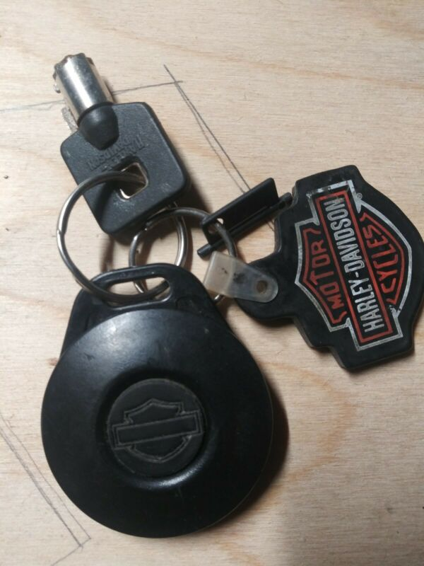 Harley davidson Key Fob with key