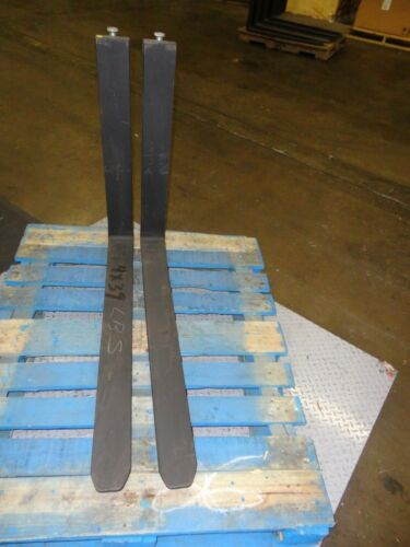 "(new) Cascade 7515488 4"" X 39 Flexi Narrow-aisle Forklift Forks 1 Pair 2021259"