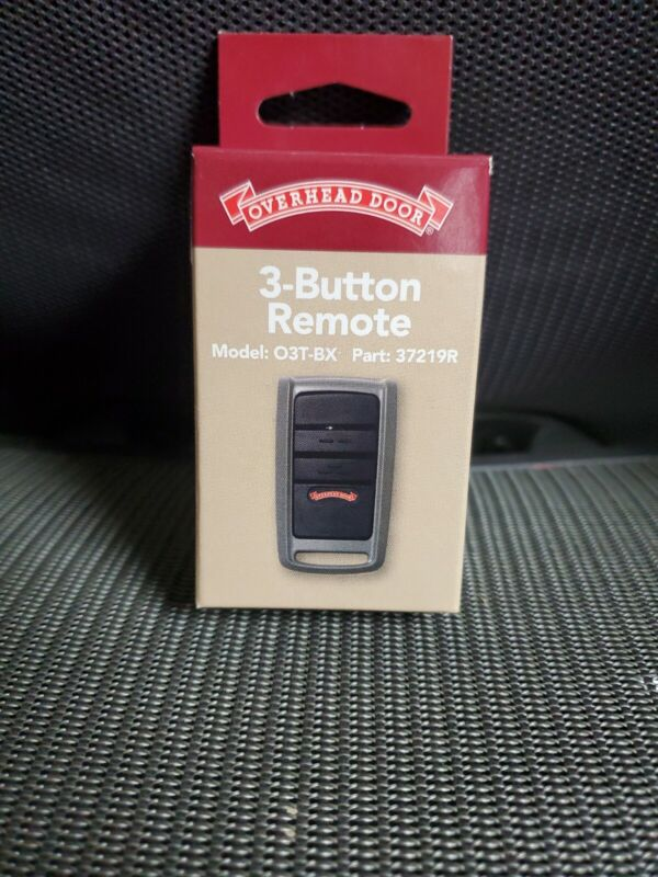 OVERHEAD DOOR 3-BUTTON REMOTE MODEL:O3T-BX